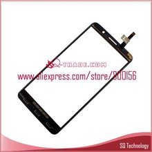 for lenovo replacement parts for lenovo A850+ A850 plus touch screen digitizer glass panel Black