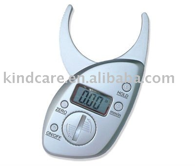 Digital body fat caliper