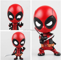 Factory custom mini spider figurines/making movie character man action figure/plastic movable bobble head toys