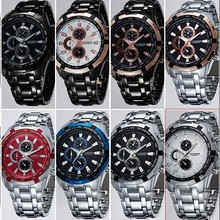 relogios masculinos Curren Luxury Brand Watch Men Fashion Watch Quartz Wristwatch Full Steel quartz stainless brand watch men