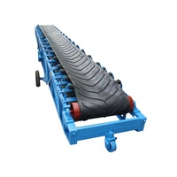 Truck Loading Mobile Belt Conveyor/Material Handling Conveying Equipment