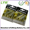 super alkaline 1.5v dry cell battery with lowest price sale,blister or shrink pack