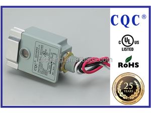 UL approved photoelectric sensor used for exterior lighting