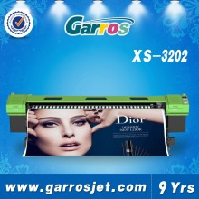 Garros XS3202 3.2m LF spectra polaris 512 15pl head solvent printer