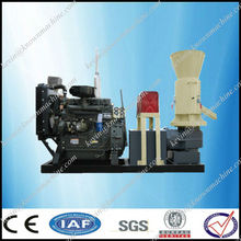 Flat die type diesel sawdust pellet pressing machinery