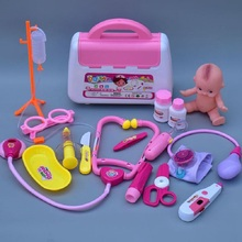 Baby Doll Auscultation portable medical kit toys