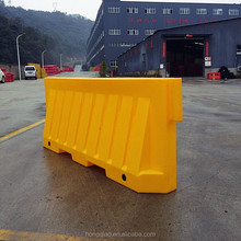 temporary, semi-permanent Plastic New Jersey Road Barrier