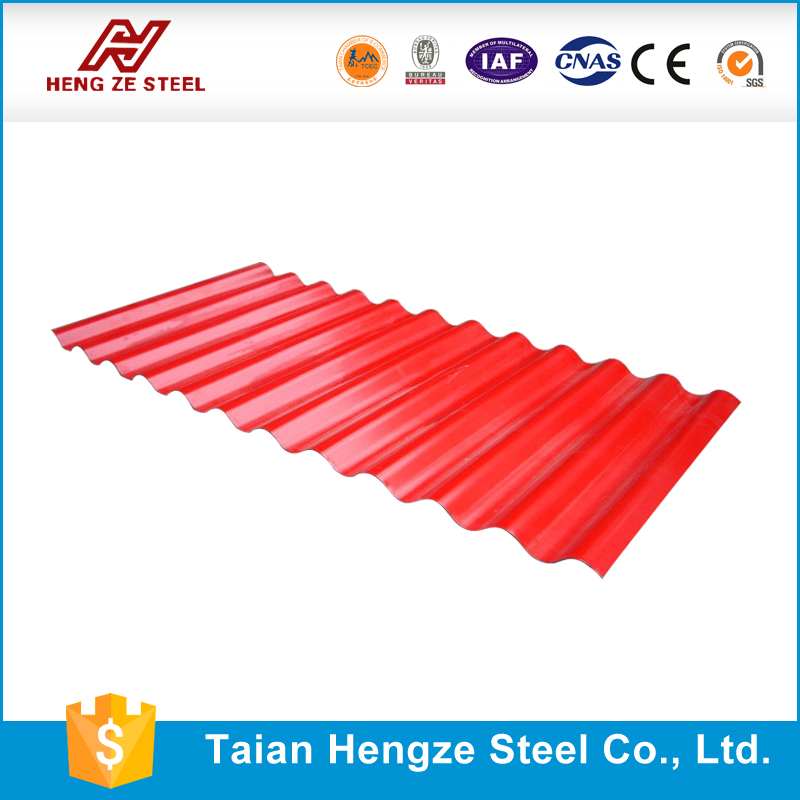 High-class Zinc coated metal corrugated metal roof sheet, Prepainted trapezoid roof sheet, factory price
