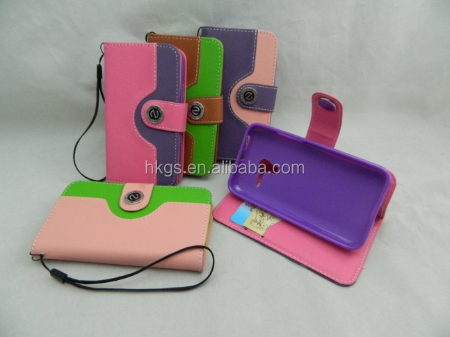 Fashion 2014 For Digicel Cell Phones Accessories Leather Flip Case For DL750