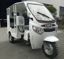 The latest Single row bus emergency vehicles cheap 200CC ambulance tricycle