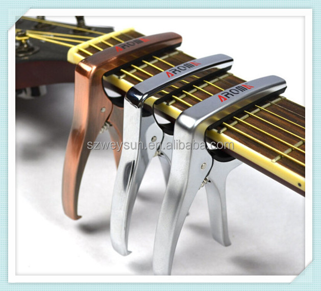 Electric Acoustic Guitar Bass Violin Ukulele Capo Tune Clamp