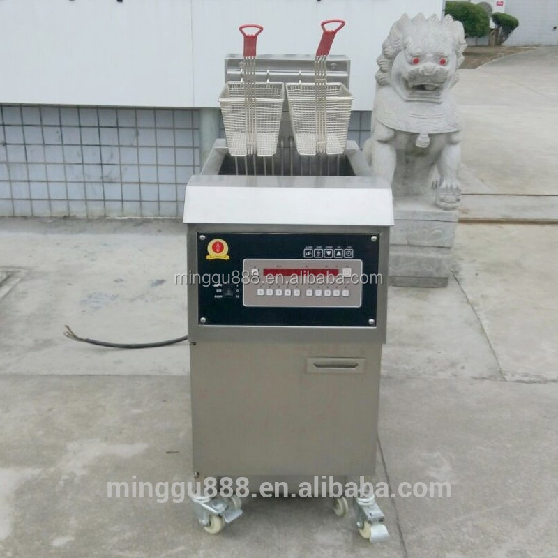 PFE-800 Commercial Kitchen Gas Deep Fryer/Best price for hotels gas deep fryers with basket