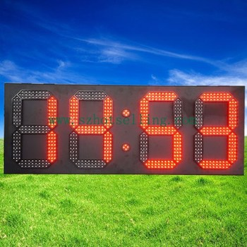 white/red... led digital clock / BT-9636R LED Clock and Temperature Display