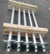 Hot Dip Galvanized Ground Spikes Post Anchor
