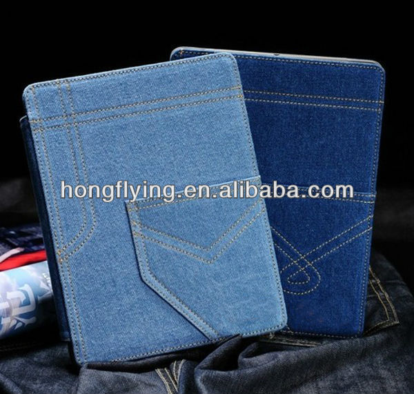 High quality Jeans carry case for ipad mini