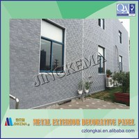 Decorative wood carving wall panel used for steel structure prefabricated houses, buildings, villas