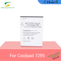 3.8v - 4.2v 2000mAh cellphone battery replacement for Coolpad 7295 , rechargeable cell phone battery 7295