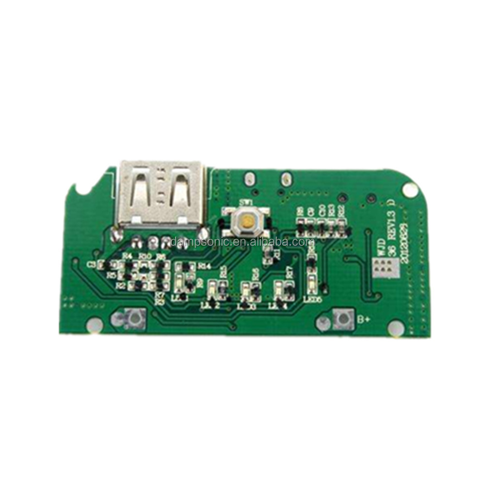 Shenzhen power bank printed circuit board pcb assembly manufactuer