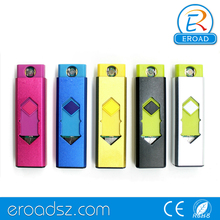 Eroad alibaba promotional square lighter usb rechargeable