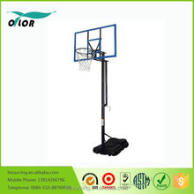 Outdoor basketball games basketball stands with net and hoop