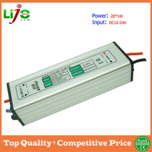 low voltage waterproof led light driver 25w