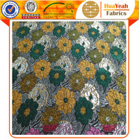 polyester floral jacquard chenille upholstery fabric with perfect quality