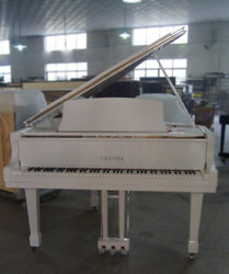 88 keys Keyboard Musical Instrument white Baby Grand Piano HG-152W with piano self-playing System and dust cover