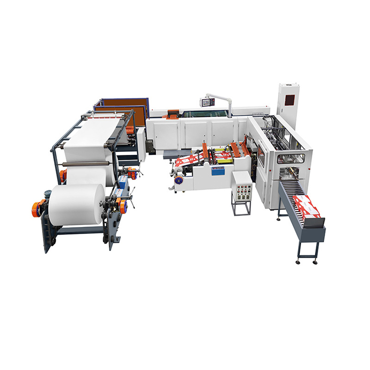A4 paper cutting packaging machine a4 cut size sheeter