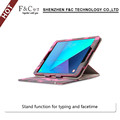2017 trending products waterproof melt purse case for samsung galaxy tab s3 foil stand smart case with back standing function