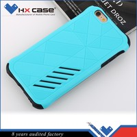 Flexible price fast delivery two piece designed cell phone case