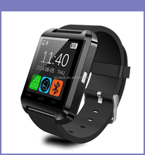 Popular Sport Watch 1.44 Inch Capacitive Touch Screen Bluetooth Wifi U8 Smart Watch Mobile Phone