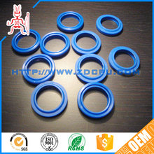 "Custom made blue color 3"" plastic ring"