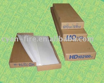 Heidelberg spare parts, ink duct foil for 102V/SM74/MO/GTO