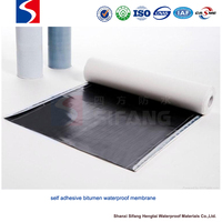 polymer modified bitumen thermal insulation waterproof material self-adhesive membrane
