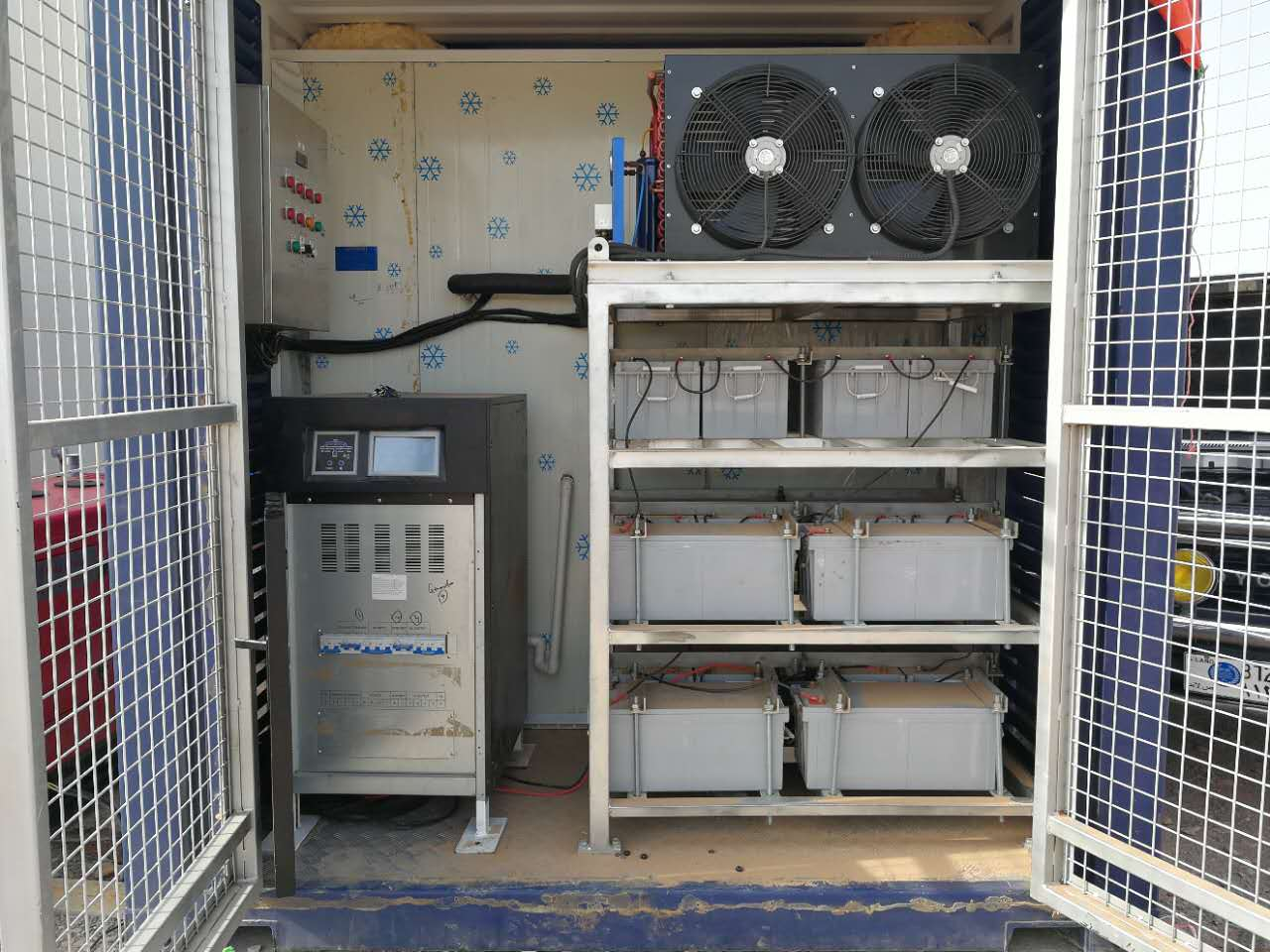 Latest Solar Powered Cold Storage room Solar cold room for meat