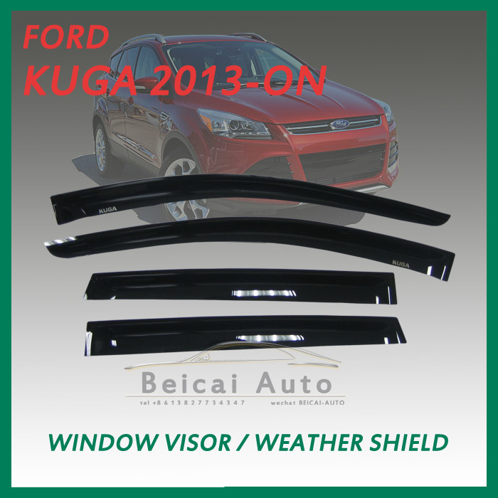 window visor sun guard rain deflector vent shade for KUGA 2013-ON