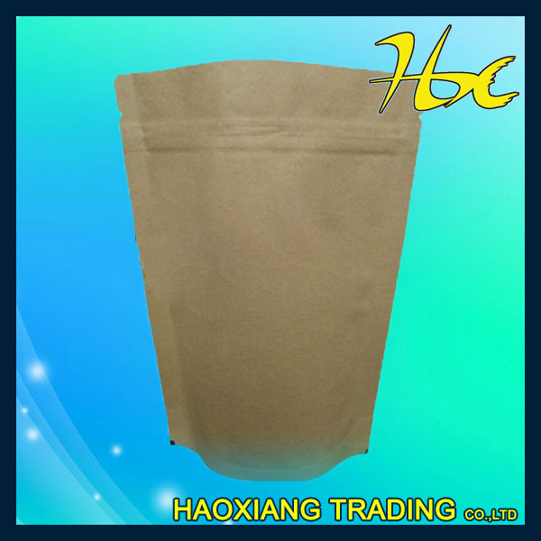 stand up coffee bag with ziplock stand up zipper pouch for tea new design golf stand bag