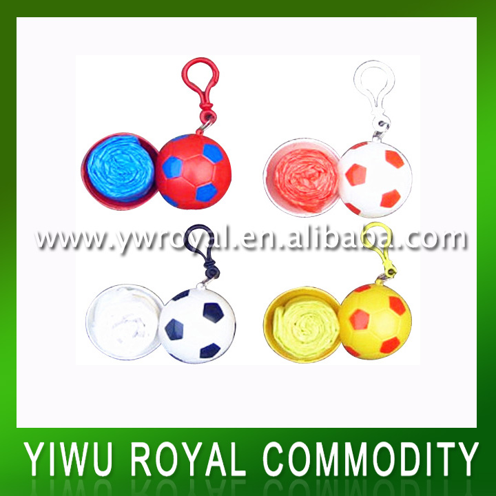 Promotional Disposable Football Rain Poncho