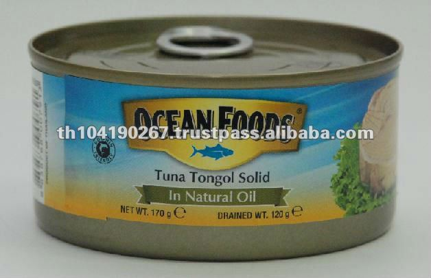 Canned Tuna Solid in Natural Oil (170g)