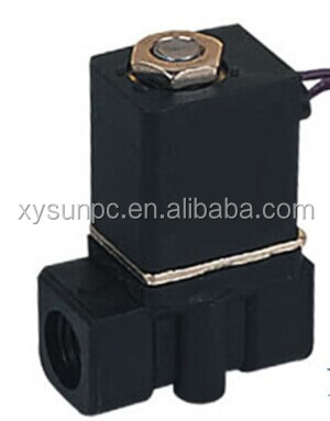 Abilbaba china product 2/2 way normal closed plastic solenoid valve