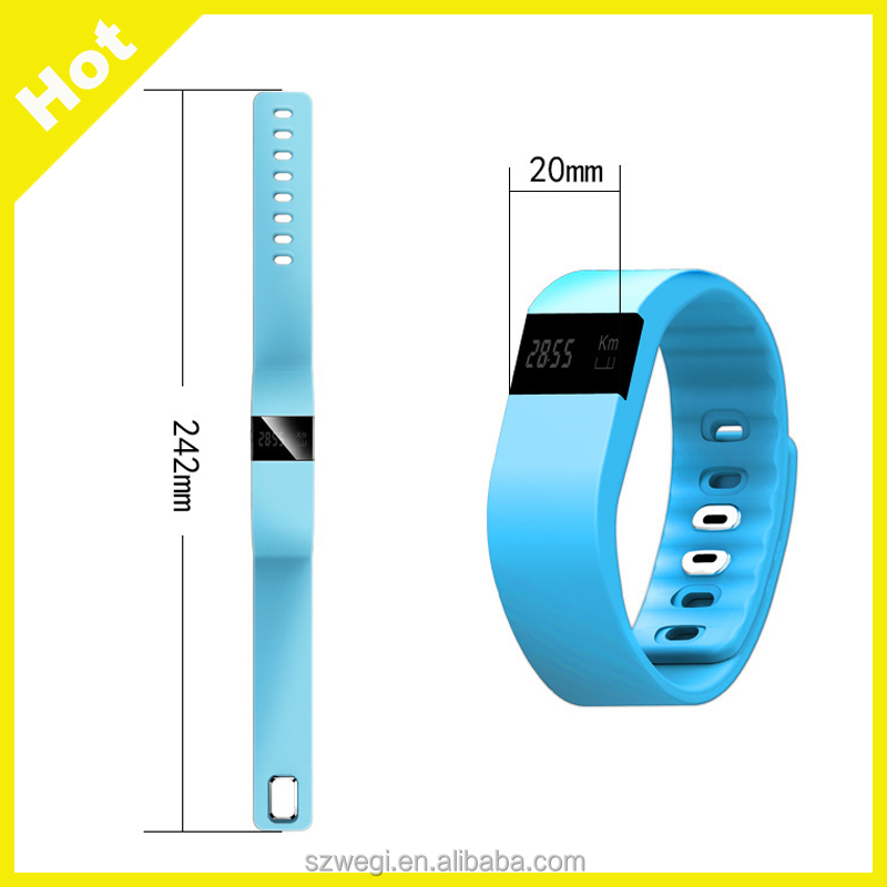2017 Hot Sale tw64 Pedometer Sleep Tracker Thermometer Smart Wristband Fitness Tracker Smart Watch Pulsera Inteligente