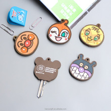 Customized plastic soft PVC Key cover protective sleeve from lost