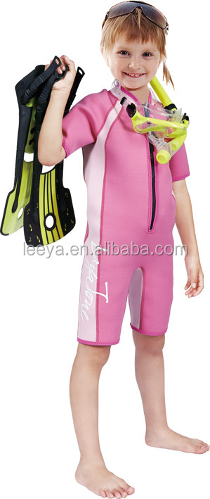 Scuba neoprene 2mm-3mm diving wetsuit for toddle W-14