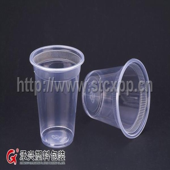 ChengXing brand wholesale pp hips pet plastic 8oz coffee cup