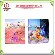 OEM children printing board book with Colorful LED light Duplex Board Book With Changeable LED