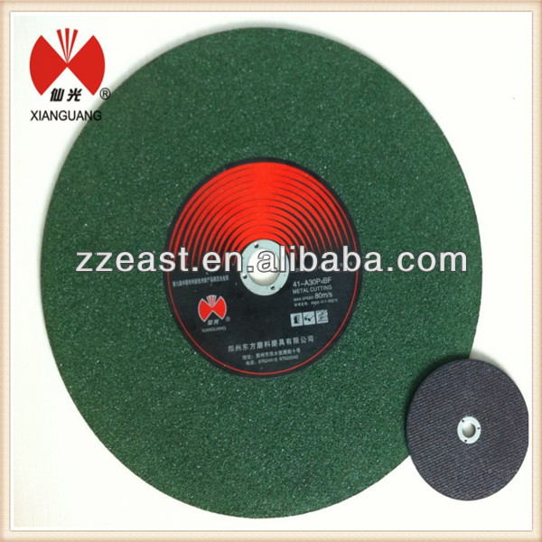 High quality <strong>12</strong> inch abrasive cutting disc for stainless steel ,metal