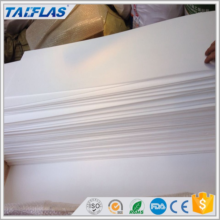 custom made natural color ptfe teflon sheet