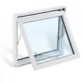 New products of tempered glass aluminum window suplier