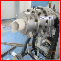 inner spiral silencing pvc drainage pipe machine/making machine/production line