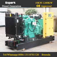 60Hz 480V 3 phase 80kw diesel generator with Cummins 6bt Generator